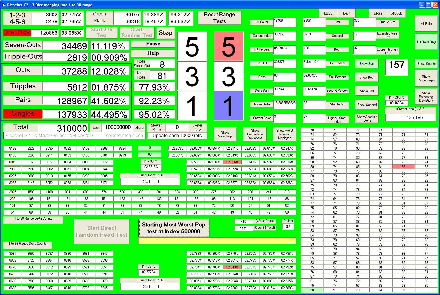 roulette practice software